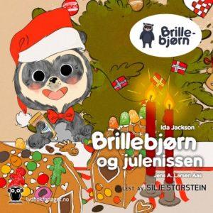Brillebjørn og julenissen (Nedlastbar lydbok) Image
