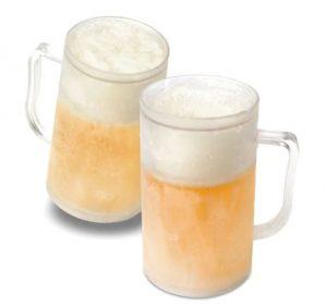 Frysbart ølglass Image
