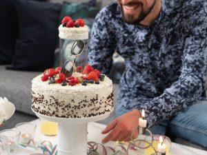 Kakefat med skjulested til gave Image