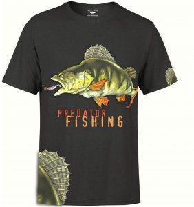 Predator Fishing T-Skjorte Image
