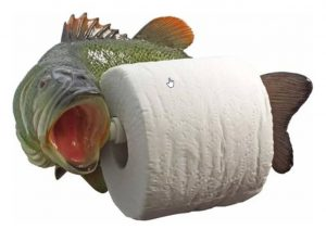 Toalettpapirholder Fisk Image