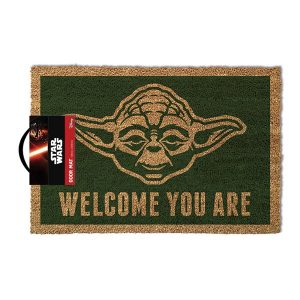 Star Wars Dørmatte- Yoda - Welcome You Are Image
