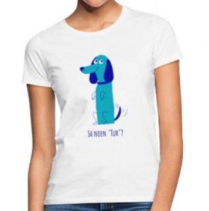 T-skjorte til kvinne - Sa noen tur? (til hundeelsker) Image
