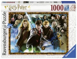Puslespill 1000 Harry Potter Ravensburger Image