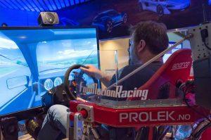 Racing simulator hos Drammen Racing Senter Image