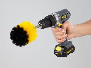 Wibbri-børste til drill i 3-pakning Image