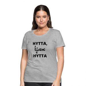 Hytta, kjære hytta - T-skjorte for kvinne Image