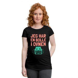 T-skjorte - Jeg har en bolle i ovnen Image