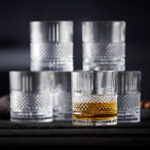 Whiskyglass 6 stk Image