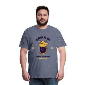 T-skjorte for mann - Drikk øl - det er billigere enn terapi Image