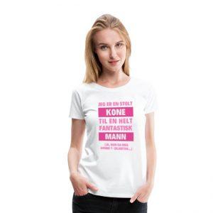 T-skjorte - Jeg er en stolt kone til en helt fantastisk mann Image