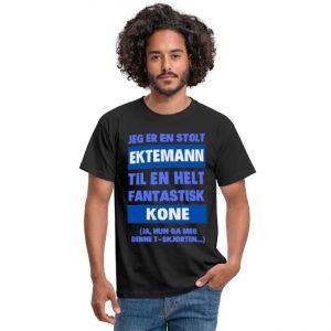 T-skjorte - Jeg er en stolt ektemann til en helt fantastisk kone Image