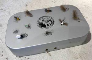 Flueboks med fluer Image