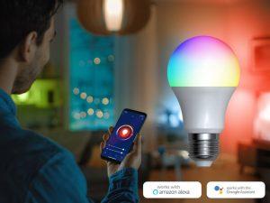 Denver Smart RGB LED-pære Wi-Fi Image