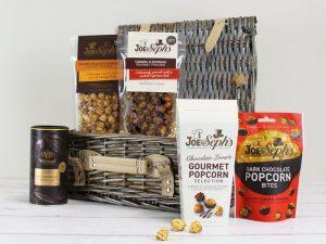 Joe & Seph's popcorn whisky & sjokolade-gavekurv Image