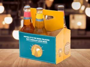 Øl-kartong til øl-elskeren Image
