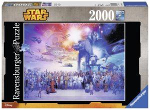 Puslespill 2000 Star Wars universe Image