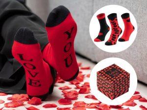 Romantiske sokker i 3-pakning Image