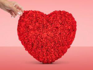 Rose Heart Image