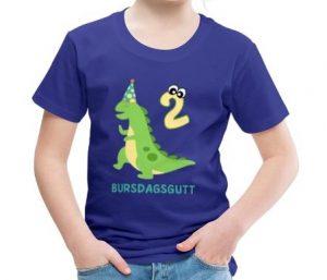 T-skjorte til 2-åring - Bursdagsgutt Image