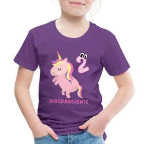 T-skjorte til 2-åring - Bursdagsjente Image