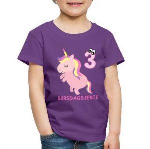 T-skjorte til 3-åring - Bursdagsjente Image
