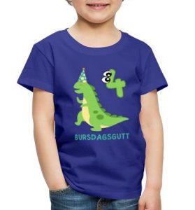 T-skjorte til 4-åring - Bursdagsgutt Image