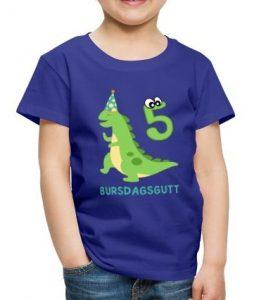 T-skjorte til 5-åring - Bursdagsgutt Image