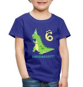 T-skjorte til 6-åring - Bursdagsgutt Image